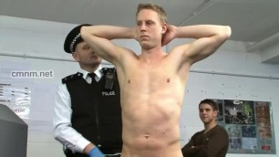 Blonde Straight Lad got Molested by Pervert Police